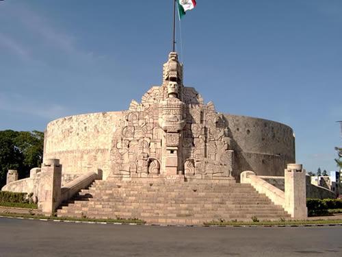 Monumento a la patria en m rida yucat n for Construccion de piscinas merida yucatan